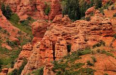 Conglomerate Red Rock