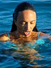 Breathe (Tiziano De Donno) Tags: travel sea portrait people italy sun zeiss swimming shadows sony salentu
