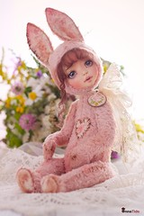 Bunny by A.Tide (09.2014)#8 (Anna T.) Tags: teddy artdoll artistdoll teddydoll artistteddy teddysbyannatide