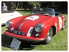 Porsche 356B 1960 (v8dub) Tags: auto old b classic car spider automobile convertible automotive voiture spyder porsche oldtimer oldcar cabrio collector roadster 1960 cabriolet 356 aircooled wagen pkw klassik worldcars