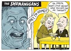 Dirty Politics Cartoons