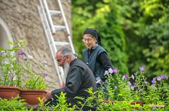 Searching-google_DSC7991 (Mel Gray) Tags: garden sofia religion monk nun monastery bulgaria ladder easternorthodox dragalevtsimonastery easternorthodoxmonastery
