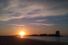 IMAG1175 (cwildtidsunne) Tags: sunset sea sky mer clouds atardecer mar twilight meer day sonnenuntergang sundown dusk himmel wolken céu ríasbaixas galicia galiza ciel cielo nubes ceo nuvens dämmerung atlanticocean oceanoatlântico ocaso vigo coucherdesoleil crepúsculo toralla solpor galice océanoatlántico luscofusco galicien ríadevigo illascíes vigobay ovao praiadovao pwpartlycloudy