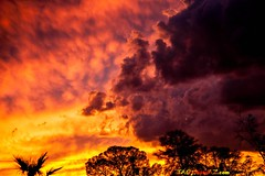 20140915-_MG_2424 (Daniel Sennett) Tags: blue red arizona sky orange house up clouds fire photography comic tucson daniel az it burning comix tcc maker tao con sennett wwwtaophotoazcom
