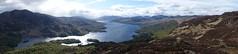 view from Ben A'an (Sean Munson) Tags: panorama mountain lake mountains water landscape scotland highlands hiking loch trossachs benvenue scottishhighlands lochkatrine queenelizabethforestpark benaan