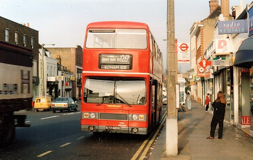 Flickriver: Most interesting photos from LONDON BUS ROUTES 126/138