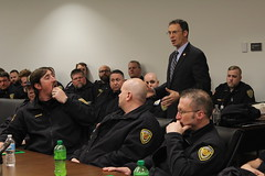 Sen. Ron Latz meets with AFSCME members