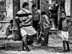 Before the digital invasion (ms_eyewitness) Tags: streetlevelphoto bw cuba blackandwhite candid kids life monochrome people realism street