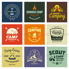 Vintage camp graphics (Ember Studio) Tags: camping summer camp vacation orange brown mountain classic sign yellow set illustration forest vintage emblem outdoors design woods sticker graphic symbol decorative quality label web tag text banner hipster paddle style scout tent retro canoe stamp nostalgia seal badge round type axe arrow recreation lettering teepee ax insignia boyscout vector premium scouting girlscout designelement