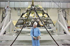 Orion Weight and Center of Gravity Test