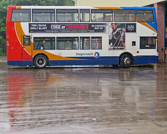 To Be Blunt, Not The Weather For A Cruise (Richie B.) Tags: north lancashire cumbria and alexander dennis stagecoach trident alx400 mx05 wja lillyhall canonsx27007062014