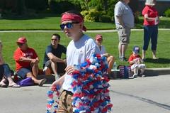 Fourth of July Parade (seanbirm) Tags: sunglasses illinois hippy parades dude lei 4thofjuly independenceday cookcounty getlaid fourthofjulyparade westchesteril