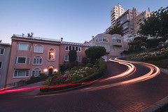 Lombard Street (armontie) Tags: sf sanfrancisco california street city longexposure cars bay san francisco exposure bayarea streaks lombard lombardstreet
