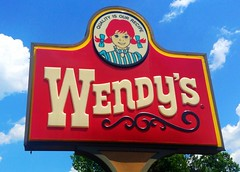 Wendy's Sign,