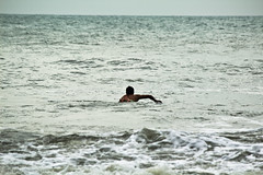 Surfing in Mahabs (KarthikGPhotography) Tags: ocean sea portrait people food india beach sports portraits photography blog waves madras streetphotography surfing chennai tamilnadu mahabalipuram watersport mahabs