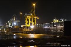 Portside (Tom Marschall) Tags: port train adelaide portadelaide