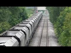 Activity at Dinnington Junction [Panasonic camera video] (parkgateparker) Tags: dinnington 66126 northanston syjnt