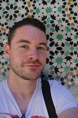 Tiled Selfie (Keith Mac Uidhir  (Thanks for 3.5m views)) Tags: morocco maroc marocco marruecos marokko moroccan marrocos meknes fas marocko marokk   mekns   maghribi  marako         mrk maruekos