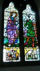 Fenn stained glass window