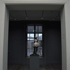 Tiny Dancer (MPnormaleye) Tags: lighting windows sculpture art girl statue museum design gallery shadows exhibit collection textures utata figure pedestal