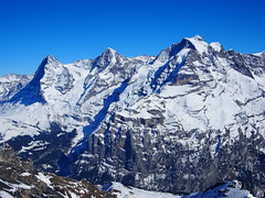 Jungfrau region with Eiger, monch and Jungfrau summits!