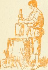 Anglų lietuvių žodynas. Žodis stone-jug reiškia akmuo-ąsotis lietuviškai.