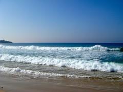Flinke golven bij Tarifa