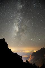 Gran Canaria Mgica (Job Marrero) Tags: luz grancanaria mar pueblo canarias nubes estrella cumbre vialactea