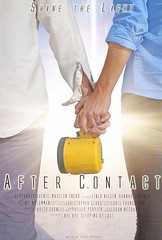 "Check out this poster from ""After Contact"". Who is coming down to the Robinson Film Center on August 12 (6pm-8pm) to see if this gets into the Louisiana Film Prize Top 20?"