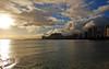 """Cloud Minders"" (jcc55883) Tags: ocean sunset sky clouds hawaii nikon waikiki oahu horizon pacificocean d40 kuhiobeachpark nikond40 yabbdabbadoo"
