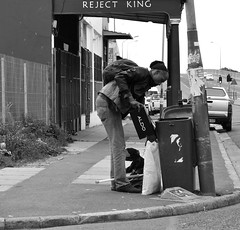 The Reject King. (Gerry Erasmus) Tags: poverty saltriver rejectking