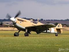 Private --- Hispano HA-1112-M1L Buchon --- G-AHWE (Drinu C) Tags: plane private aircraft military sony duxford hispano dsc qfo flyinglegends buchon egsu ha1112m1l hx100v gahwe imperialwarmuseums adrianciliaphotography