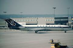 Olympic Airways Boeing 727-284 SX-CBC (c/n 20005)(Frankfurt) Withdrawn from use in 1994 and nowadays used as a house. (Manfred Saitz) Tags: frankfurt boeing olympic airways fra 727 b727 rheinmain eddf sxcbc