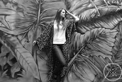 Urban Jungle (Lauren Shelley) Tags: city blackandwhite streetart girl graffiti model photoshoot australia jungle canberra portfolio modelling
