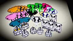 Pack by Elepaint Stickers Valeu bro! (Mars Crew) Tags: streetart art sticker sampa sp vandal rua trade atreet conexo valeu vandalart