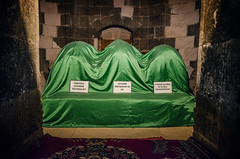 Tomb (Melissa Maples) Tags: turkey nikon asia trkiye sigma mosque graves 1020mm tombs coffins  sarcophagi   f456 hsm  beyehir erefolu 1020mmf456 d5100