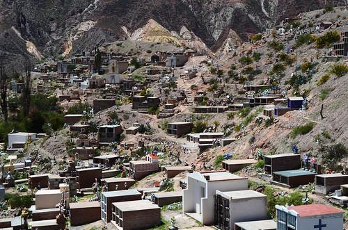 El cementerio de Maimará