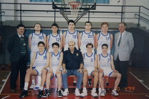 INDIANA LINE Collegno Basket Cadetti Eccellenza 98-99