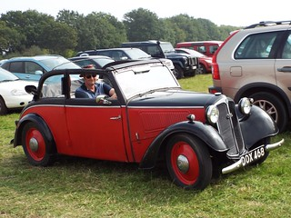 1936ish DKW Meisterklasse 4-seater Cabriolet