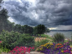 Storms coming (Digital_Third_Eye) Tags: lake wisconsin 2014 danecounty