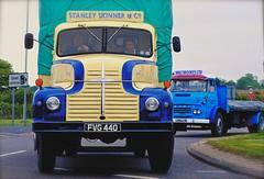 Old Trucks (jayneboo) Tags: old metal vintage trucks 365 ontheroad 1953 leyland commer odc leylandcomet 35mm14 fvg440 fujixe2 mrts365 skinnerco