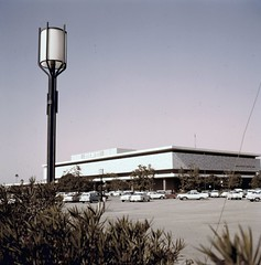 Fashion Square, Santa Ana, circa 1960 (Orange County Archives) Tags: california history retail mall historical shoppingcenter southerncalifornia orangecounty santaana stores fashionsquare mainplace orangecountyarchives orangecountyhistory