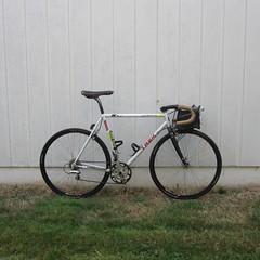 ... with tubeless Tom Slicks (Tysasi) Tags: bike tom trek slick conversion pro berthoud ritchey ouzo 1000 reynolds 355 randonneur sugino tubeless aspin randonneuse 650b ztr ox801d
