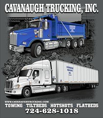 "Cavanaugh Trucking - Connellsville, PA • <a style=""font-size:0.8em;"" href=""http://www.flickr.com/photos/39998102@N07/15072078365/"" target=""_blank"">View on Flickr</a>"