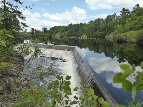 Along the Falls Dam