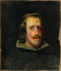[ P ] Pablo Picasso -  Copy of a Portrait of Philippe IV, by Diego Velazquez c.1653 (1898)