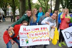 Demokrati-tog, Solborg Folkehøgskole