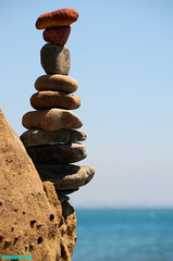 FatStackII (mcshots) Tags: ocean california travel sea summer usa texture beach nature water colors coast rocks stones stock boulders socal geology mcshots swells stacked stacks losangelescounty