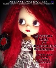 Blythe-a-Day September #14: Mystery: Rhiannon: International Mystery Girl!