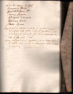 Ordinazione del Capitolo del Luogo pio delle Quattro Marie, 17 aprile 1630